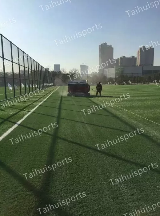 New SEBS Rubber Recyclable Rubber Artificial Grass Infill No Odor Cooling Infill Customized Color