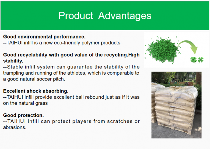 Environmental SEBS Rubber odorless Granulate For Tennis Soccer Hockey Baseball Court Artificial Grass System Food Grade 1