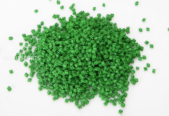 SEBS Shock Absorbing Rubber Infill Cooling granules Recyclable Turf Infill For Artificial Grass Less Filling Acid 11